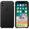 Чехол iPhone X Leather Case