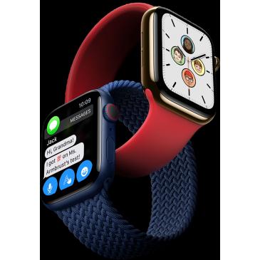 Часы Apple Watch Series 6 40mm серебристый, «серый космос», золотой, синий и (PRODUCT)RED